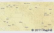 Physical 3D Map of Zongbaya