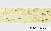Physical Panoramic Map of Zongbaya