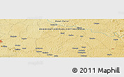 Physical Panoramic Map of Andagone