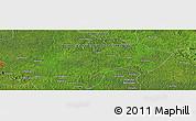 Satellite Panoramic Map of Andagone