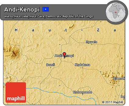 Physical Map of Andi-Kenopi