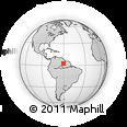 Outline Map of Boa Vista, rectangular outline
