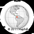 Outline Map of Mapiripan, rectangular outline