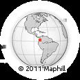 Outline Map of Lopez, rectangular outline