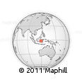 Outline Map of Indonesia, rectangular outline