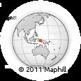 Outline Map of Aum, rectangular outline