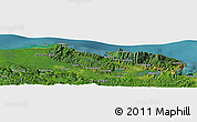 Satellite Panoramic Map of Jayapura