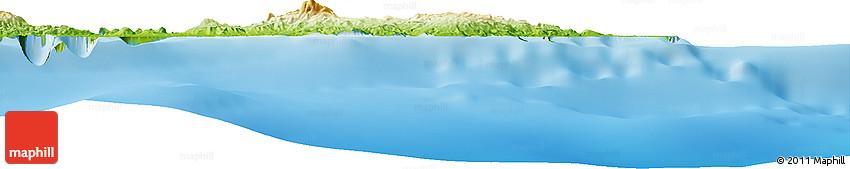 Physical Horizon Map of Vanimo