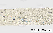 Shaded Relief Panoramic Map of Ihembe