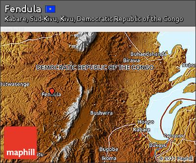 Physical 3D Map of Fendula