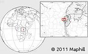 Blank Location Map of Lubimbi