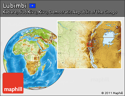 Physical Location Map of Lubimbi