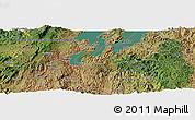 Satellite Panoramic Map of Buhokoro