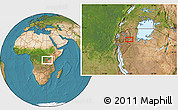 Satellite Location Map of Mwibu