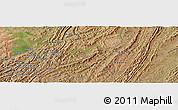 Satellite Panoramic Map of Katoke