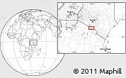 Blank Location Map of Mailua