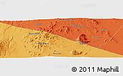Political Panoramic Map of Mailua