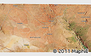 """Satellite 3D Map of the area around 2°27'3""""S,37°28'30""""E"""