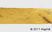 Physical Panoramic Map of Lengesim