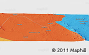 Political Panoramic Map of Makindu