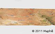 Satellite Panoramic Map of Makindu