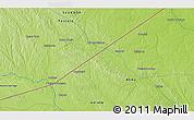 Physical 3D Map of Tambo Borja