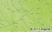 Physical Map of Tambo Borja