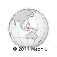Outline Map of Bahodopi Project, rectangular outline