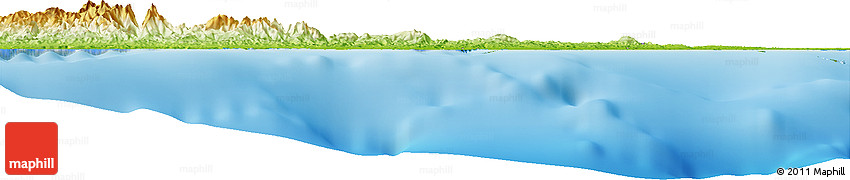 Physical Horizon Map of Serai