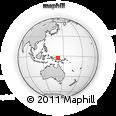 Outline Map of Serai, rectangular outline