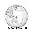 Outline Map of Paup, rectangular outline