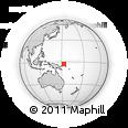Outline Map of Putput Number 1, rectangular outline