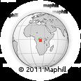 Outline Map of Anga, rectangular outline