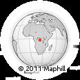 Outline Map of Djelo, rectangular outline