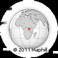 "Outline Map of the Area around 2° 58' 32"" S, 28° 7' 30"" E, rectangular outline"