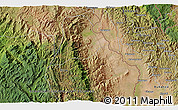 """Satellite 3D Map of the area around 2°58'32""""S,28°58'30""""E"""