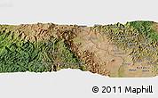 Satellite Panoramic Map of Mpanda