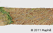 Satellite Panoramic Map of Butwe