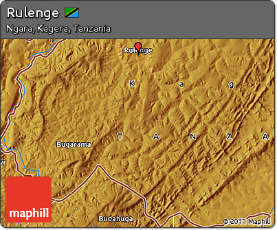 Physical Map of Rulenge