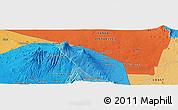 Political Panoramic Map of Mata