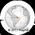 Outline Map of Anajateua, rectangular outline