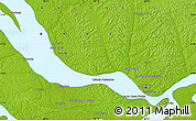 """Physical Map of the area around 2°58'32""""S,60°16'29""""W"""
