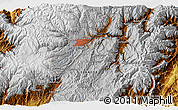 """Physical 3D Map of the area around 2°58'32""""S,78°58'29""""W"""