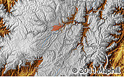 """Physical Map of the area around 2°58'32""""S,78°58'29""""W"""