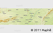 Physical Panoramic Map of Shou'an