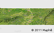 Satellite Panoramic Map of Shou'an