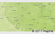 """Physical 3D Map of the area around 30°13'46""""N,105°28'29""""E"""