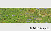 "Satellite Panoramic Map of the area around 30° 13' 46"" N, 105° 28' 29"" E"
