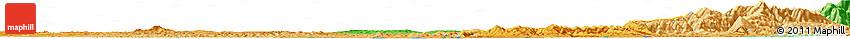 Political Horizon Map of Anju