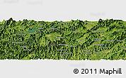 "Satellite Panoramic Map of the area around 30°13'46""N,118°13'29""E"